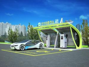 고속도로에서 장거리를 주행 할 때 전기 자동차의 연비는 오히려 24 % ↓… 휴게소를 충전 할 좋은 계획을 가지고
